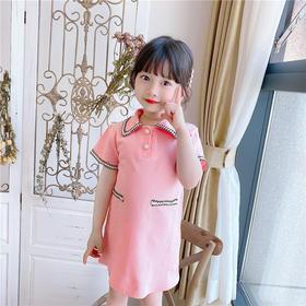 XHC-AX539新款时尚洋气宝贝小香风衬衫裙TZF