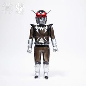 Unbox 中国超人 黑银限定版 SUPER INFRAMAN 搪胶
