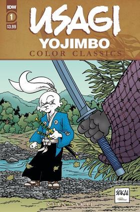 兔用心棒 Usagi Yojimbo Color Classics