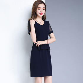 YWEMY-L133新款气质优雅时尚大码打底裙TZF