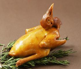 广东罗浮山农家鸽  五香卤水鸽  色香味俱佳  真空保鲜 开袋即食