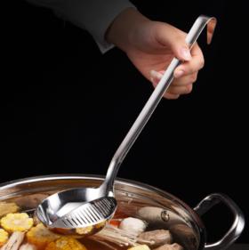 【汤勺】*不锈钢汤勺多功能无磁火锅勺大漏勺长柄厨房用具厨房小工具