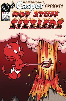 鬼马小精灵 Capser Spotlight Hotstuff Sizzlers
