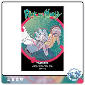 合集 英文原版 瑞克和莫蒂 vol 9 Rick & Morty 官方衍生漫画