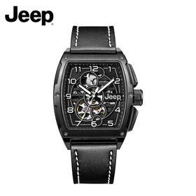 Jeep大切洛基酒桶型透视机械手表