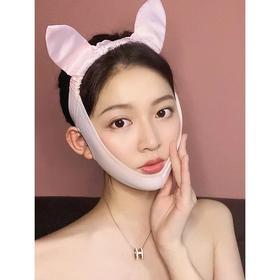 臻美脸托瘦脸神器塑脸面罩小V脸瘦脸绷带双下巴咬肌法令纹提拉