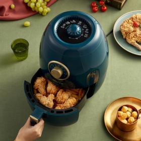 【电炸锅】*空气炸锅家用无油电炸锅3升大容量气炸薯条机