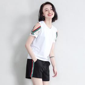 XMH-Z9X3002BX自由呼吸T恤短裤套装TZF