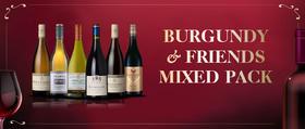 """【套装pack】""""勃艮第和它的朋友们 """"6支装葡萄酒 Burgundy & Friends 6Pack"""