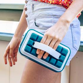丹麦ICEBREAKER POP冰格制冰盒模具带盖创意硅胶辅食冰格大