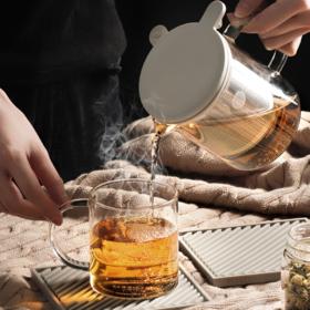 北鼎茶水分离泡茶杯,1杯抵1套茶具,浓淡自掌握