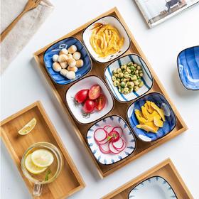 摩登主妇日式餐具客厅茶几水果盘糖果盒零食盘果篮小吃盘家用味碟