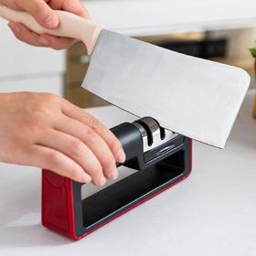 摩登主妇磨刀神器 磨刀石快速磨刀器手动 家用菜刀厨房快速易磨刀