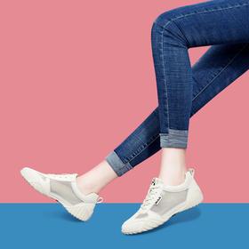 MLKL9296新款潮流时尚网面透气舒适百搭休闲鞋TZF