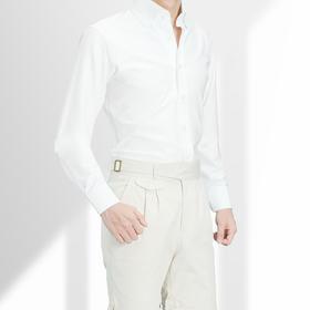 尊轩级高棉弹力针织T恤面料免烫正装衬衫