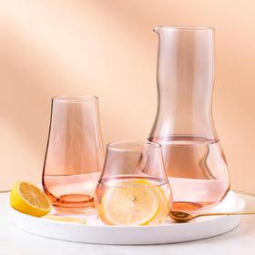 摩登主妇家用水壶凉水玻璃凉水壶家用北欧水具套装耐高温冷水壶
