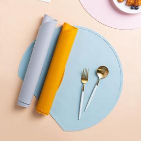 摩登主妇北欧简约硅胶桌垫ins风餐桌垫隔热防水防油西餐防滑餐垫