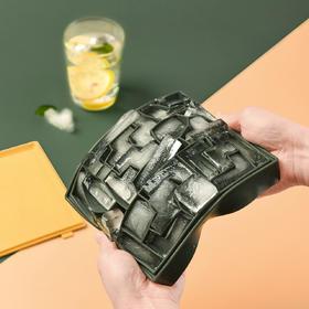 摩登主妇硅胶方块冰格模具创意冻冰块家用冰箱自制冰盒神器带盖子