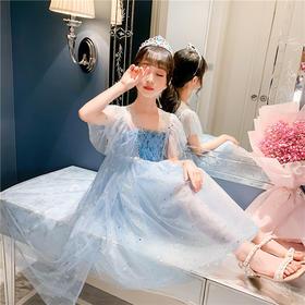 KYM-DM-8297新款时尚气质亮片蓬蓬纱公主裙TZF
