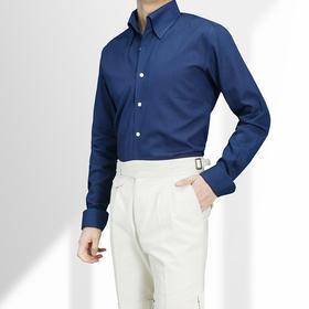 超高直上式一片领意式时尚风格衬衫