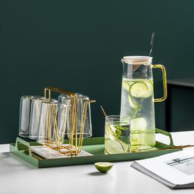 摩登主妇冷水壶大容量家用凉水壶玻璃壶耐高温凉茶壶开水杯果汁壶