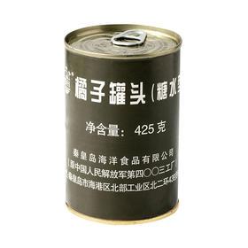 橘子糖水罐头425g 军工品质罐头
