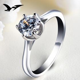 YJ0099新款s925纯银镶锆石戒指TZF