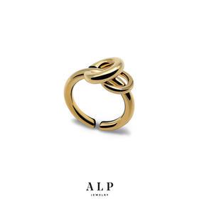 ALP JEWELRY  个性双环戒指