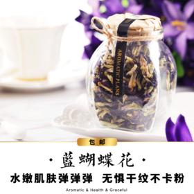 【包邮】塔泽 蓝蝴蝶花-大瓶装-花