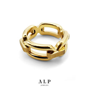 ALP JEWELRY封存系列  锁链戒指