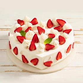 雪见莓莓 鲜甜可口的奶油草莓蛋糕(赣州)
