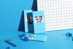 【每月10号前兑换,15号前发货】童心制物文具套装(小熊猫笔记1本+笔1支)