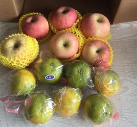 【市区三环内配送】苹果+夏橙  29.9元 5斤 本商品为苹果+夏橙的组合装 苹果和橙子都能吃到哦