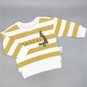 三木比迪SM9C33207 T恤 灰绿/柠檬黄