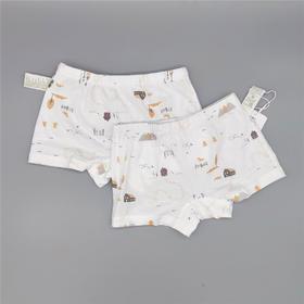 三木比迪SM8C10778 平角短裤(2件装)浅兰/浅黄