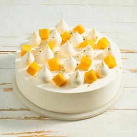 【新品尝鲜128元】2磅雪落芒芒 鲜甜可口的奶油芒果蛋糕(萍乡)