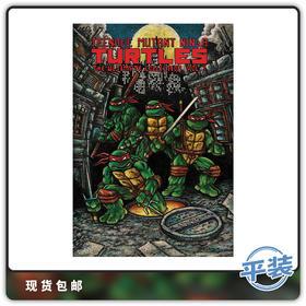 合集 英文原版 忍者神龟经典漫画 终极收藏版 Vol 1