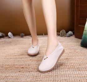 DLCT-W-620新款民族风亚麻茶艺禅服布鞋TZF