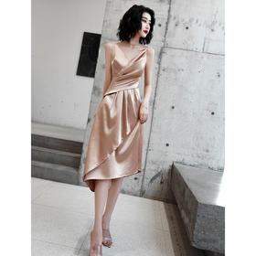 SYFS6-15新款气质大气性感吊带小晚礼服裙TZF