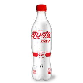 可口可乐 纤维+ 无糖零热量 膳食纤维 汽水 碳酸饮料 500ml 可口可乐公司出品 当季新品网红版-961304