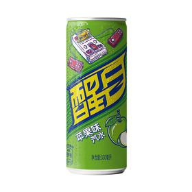 醒目Smart苹果味摩登罐330ml 可口可乐公司出品-961306