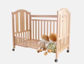 三木比迪多功能婴儿床均色F  -  下单送999元件套床组