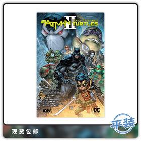 合集 蝙蝠侠 忍者神龟 2 Teenage Mutant Turtles 英文原版