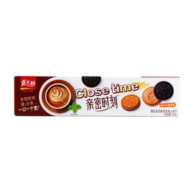 嘉士利亲密时刻饼干3种口味组合装102g*3(提拉米苏味、草莓酸奶味、香草慕斯味)