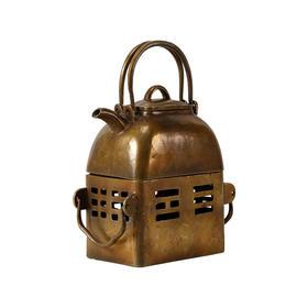 铜壶仿旧茶具新中式摆件茶壶提壶