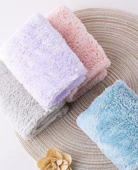 【为思礼】【买一送一!玻尿酸干发帽送毛巾】 让湿发变干发,法国微胶囊干发帽 用一次=3500次发膜