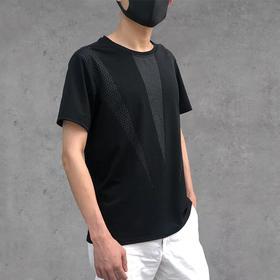 【凉爽 不变形】冰丝无痕,透气速干运动T恤。不一样的短袖,休闲时尚,潮流百搭,老少咸宜。