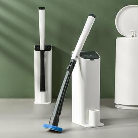 BDZN新款自带清洁剂去污无死角夹式可抛壁挂马桶刷TZF