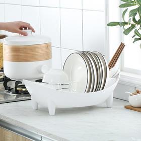 BDZN新款厨房餐具碗碟沥水塑料置物架TZF