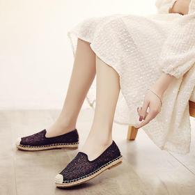 奢菀·蕾丝网面渔夫鞋 | 时髦又优雅,一上脚,自带名媛气质